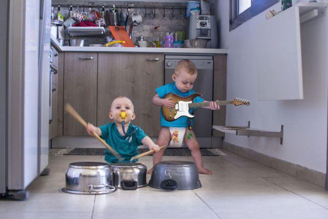 Рок-банда на гастролях