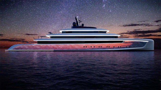 Яхта-хамелеон