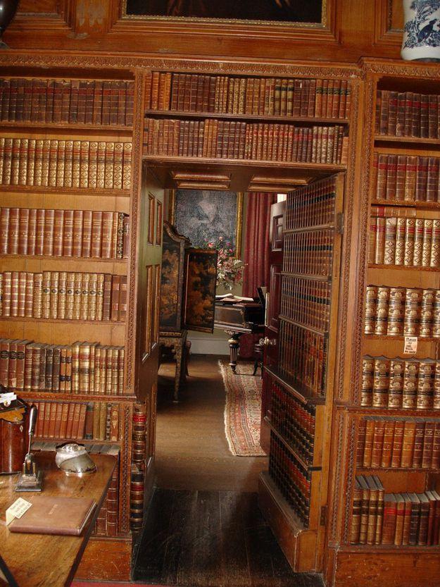 Библиотека за полками
