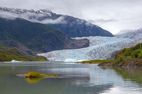 Пещеры ледника Менденхолла, Аляска 3