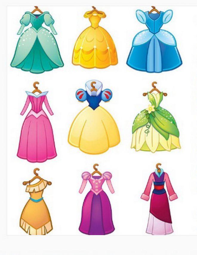 платья для принцесс фото