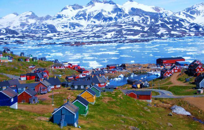 Тасиилак Гренландия 1