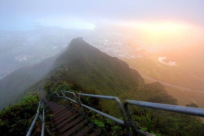 Тропа хайку Оаху, Гавайи 1