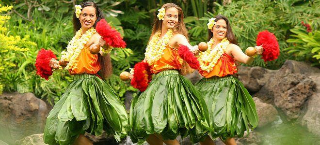 гавайский костюм