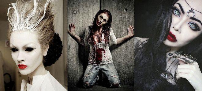образ на хэллоуин образ фото