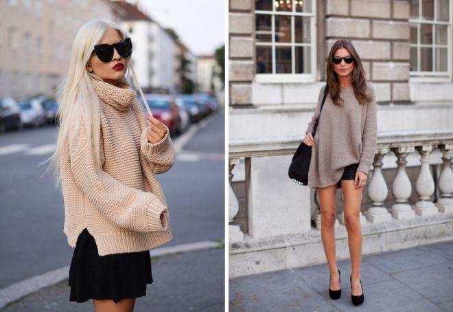 с чем носить свитер 9