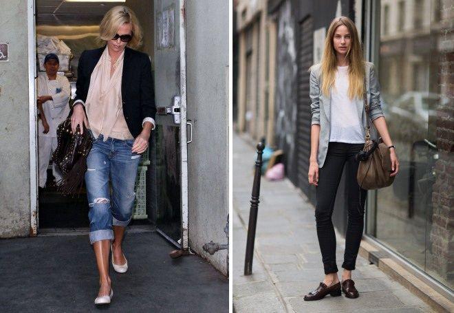 Пиджак с джинсами 10