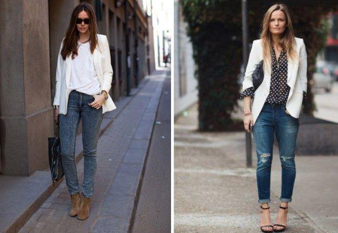 Пиджак с джинсами 11
