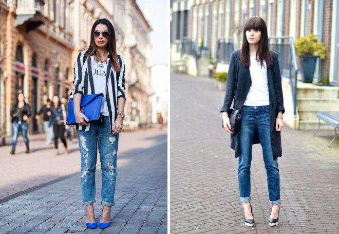 Пиджак с джинсами 13