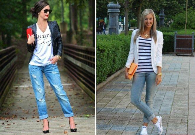 Пиджак с джинсами 14