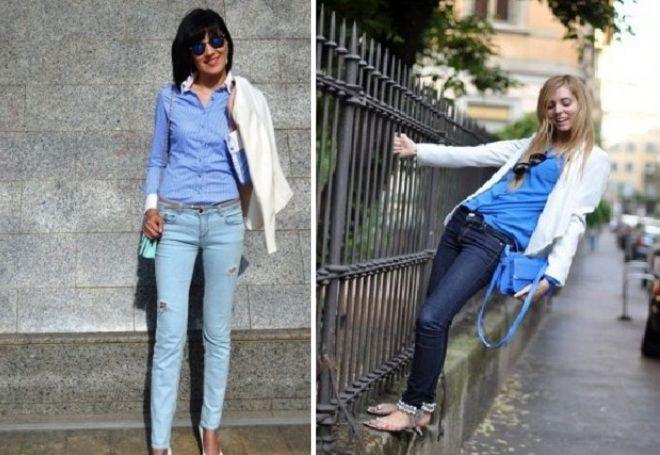 Пиджак с джинсами 15