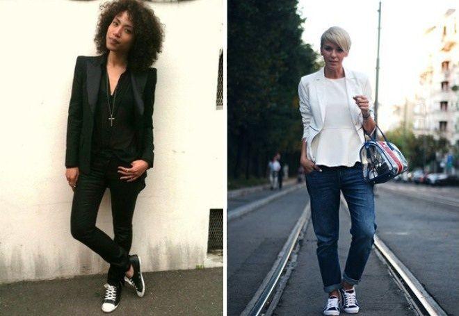 Пиджак с джинсами 19