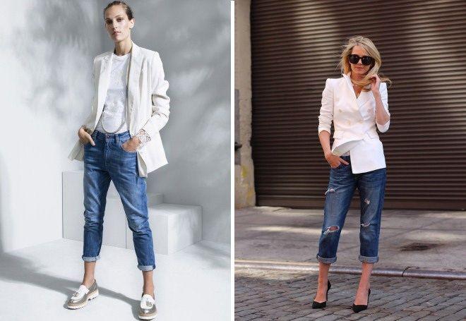 Пиджак с джинсами 2