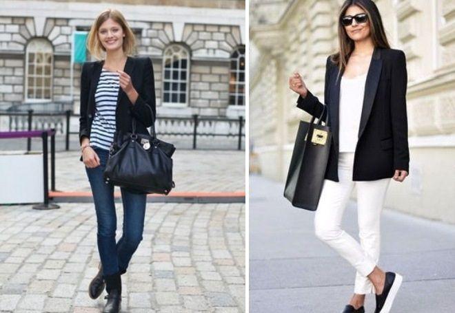 Пиджак с джинсами 3