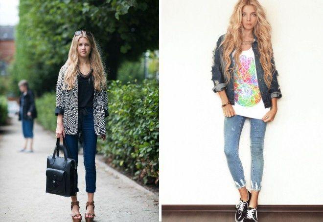 Пиджак с джинсами 5