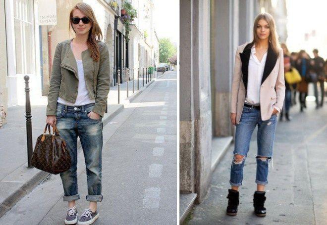 Пиджак с джинсами 8