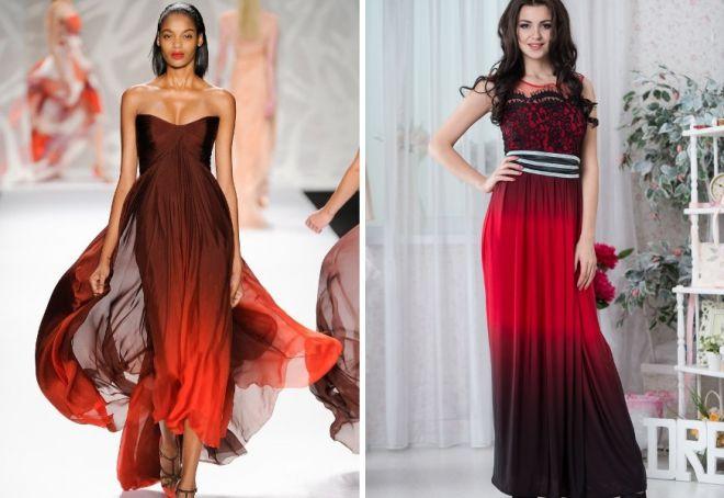 красное платье на новый год 5