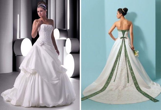 свадебные платья с корсетом 1