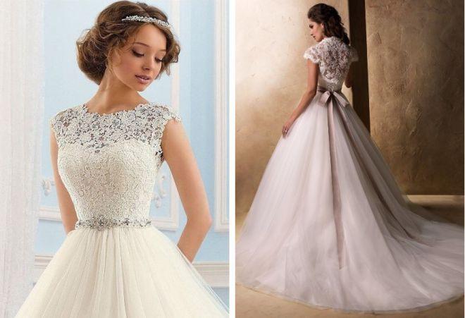 свадебные платья с корсетом 10