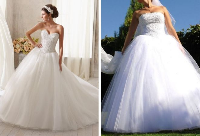 свадебные платья с корсетом 11