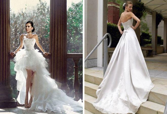 свадебные платья с корсетом 14
