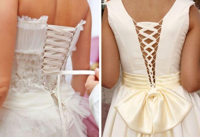 свадебные платья с корсетом 15