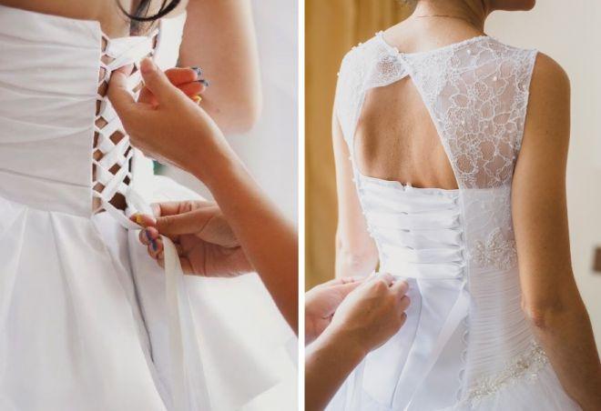 свадебные платья с корсетом 16