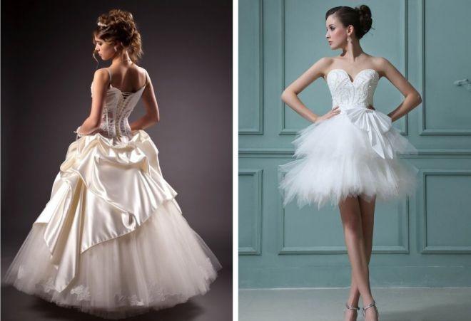 свадебные платья с корсетом 3