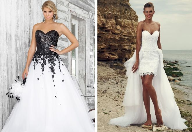 свадебные платья с корсетом 4