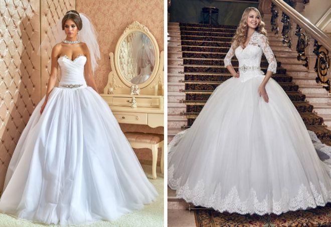 свадебные платья с корсетом 5