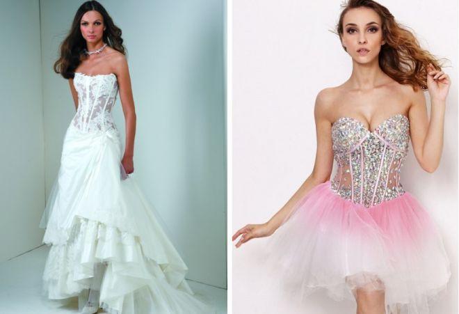 свадебные платья с корсетом 8