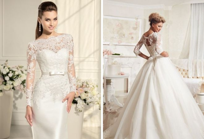 свадебные платья с корсетом 9