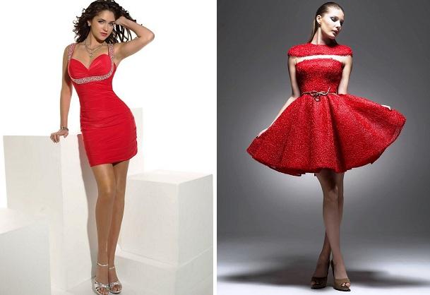 короткие платья на новый год2