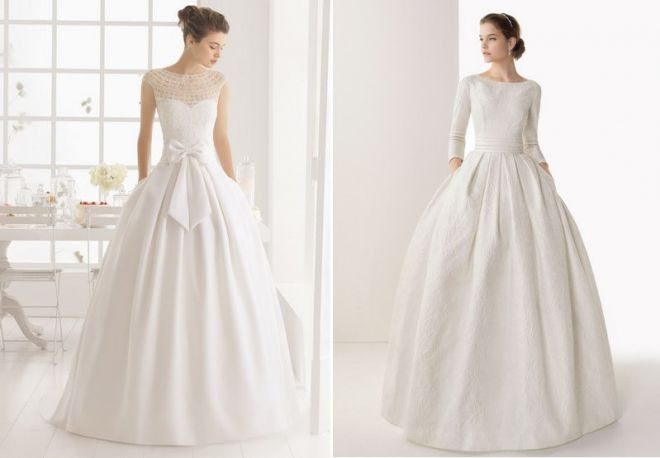 белое свадебное платье 1