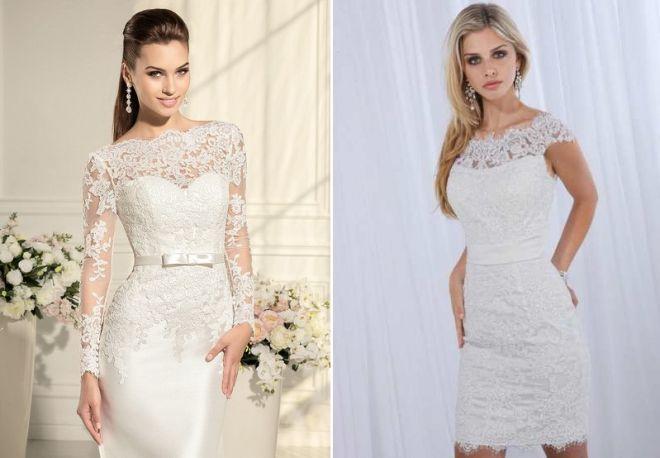 белое свадебное платье 10