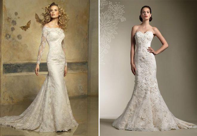 белое свадебное платье 11