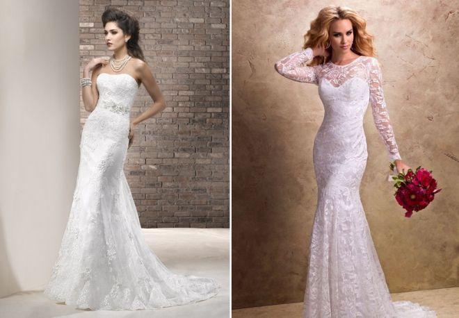 белое свадебное платье 12