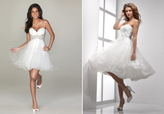 белое свадебное платье 14