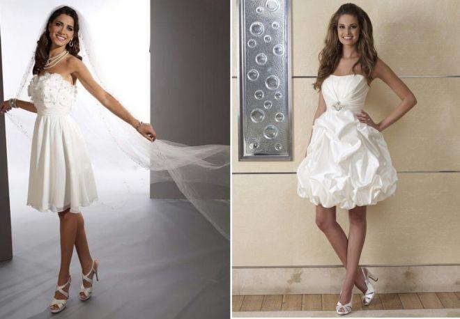 белое свадебное платье 15