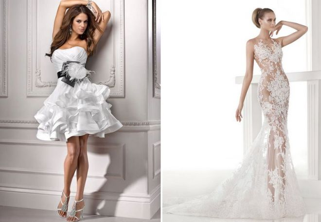 белое свадебное платье 16