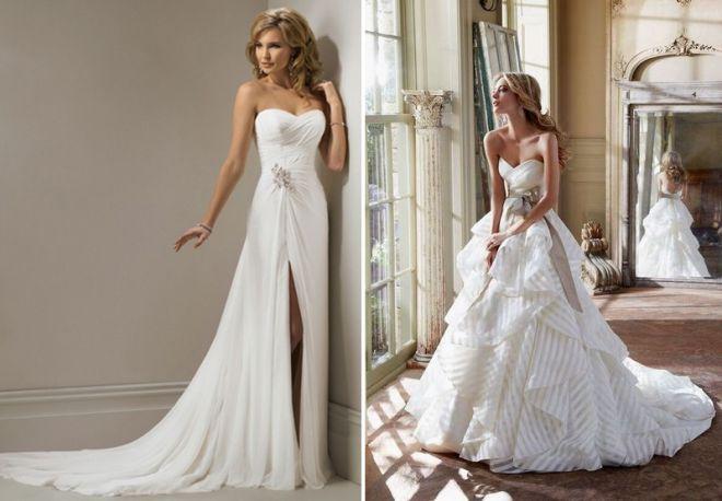 белое свадебное платье 17