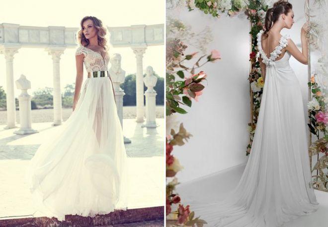 белое свадебное платье 18