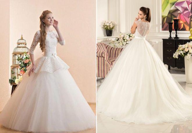 белое свадебное платье 3