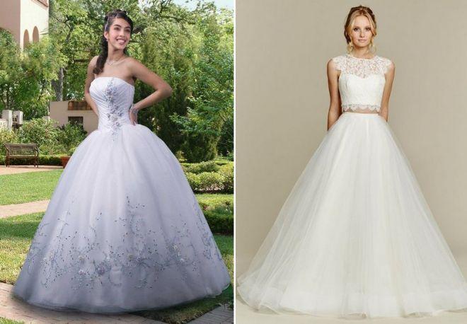 белое свадебное платье 7