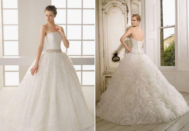 белое свадебное платье 9
