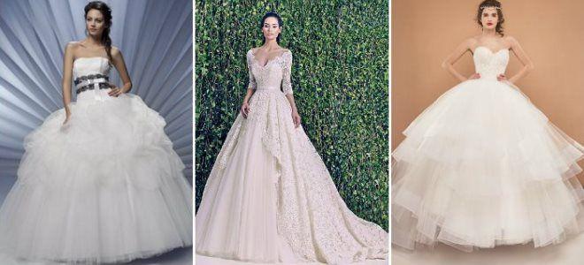 c03e7da190d6277 Очень красивые пышные свадебные платья - длинные и короткие, самые ...