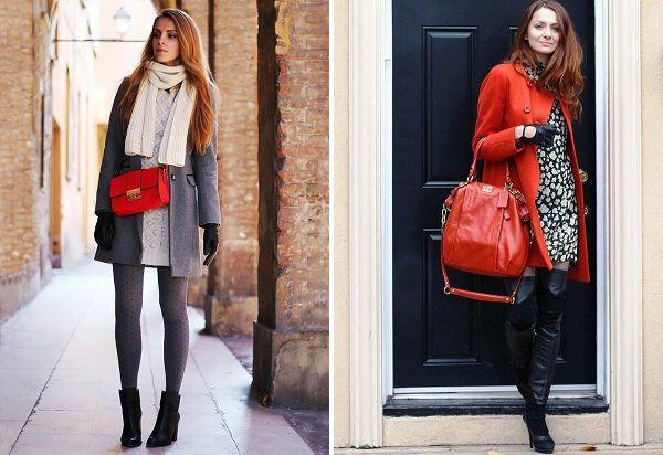 eabc1a0e4bf0 С чем носить красную сумку – кожаную и замшевую, клатч и через плечо?