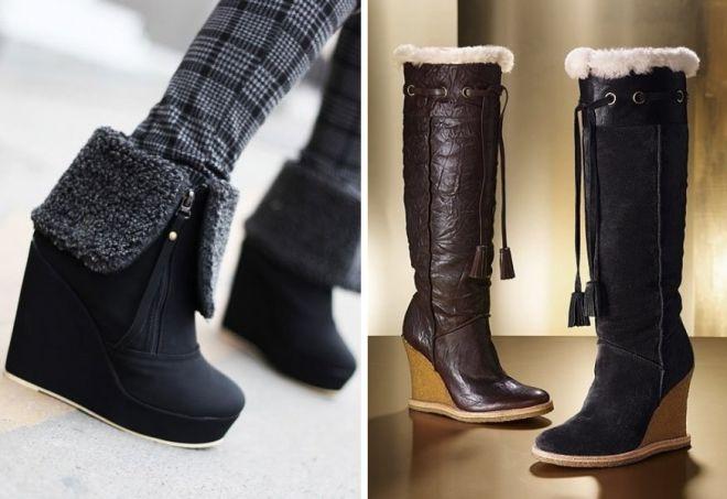 12c3d3c995a1 Самая теплая модная и стильная женская зимняя обувь