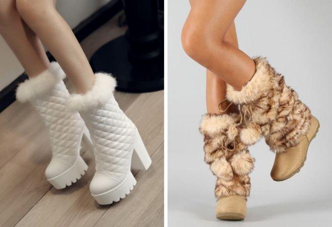bbb182af3 Самая теплая модная и стильная женская зимняя обувь