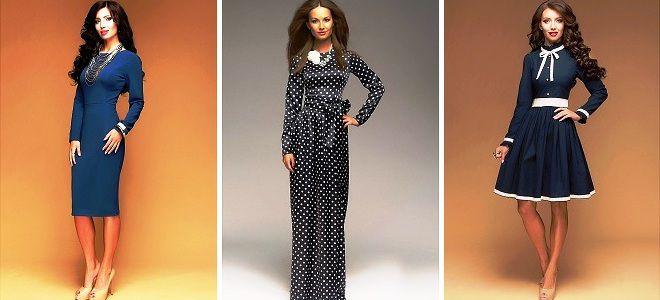 6041285517b Модные платья с длинным рукавом – шерстяные и шифоновые